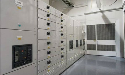 Spray humidifiers at Fujitsu low energy data centre