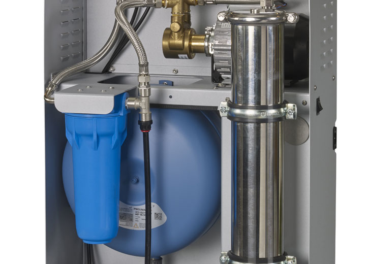 Water filter for humidifiers