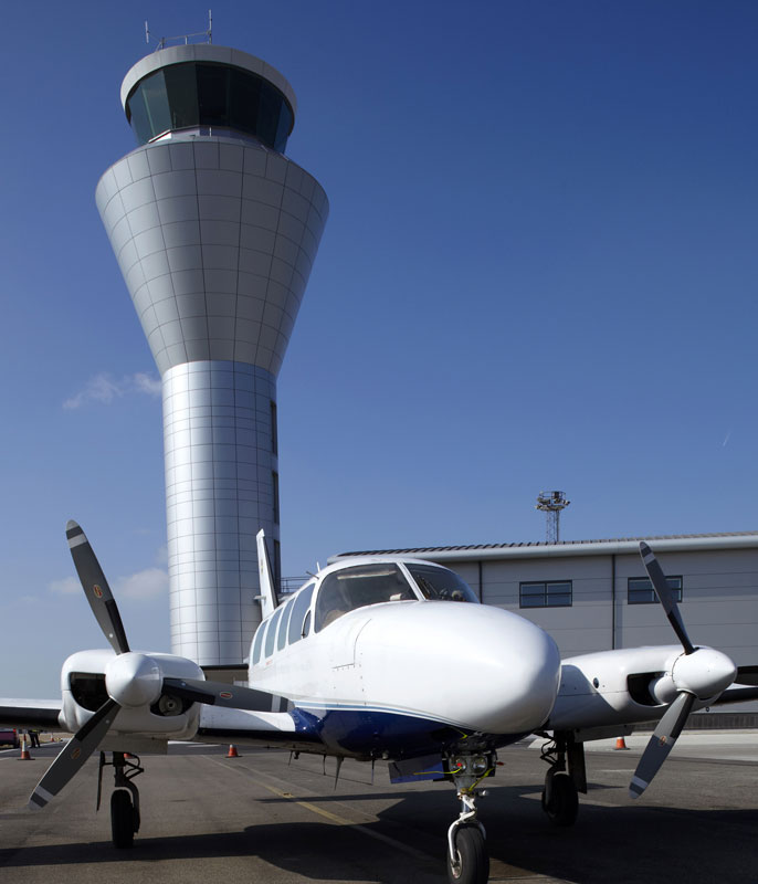 Steam humidifiers at Jersey Air Traffic Control